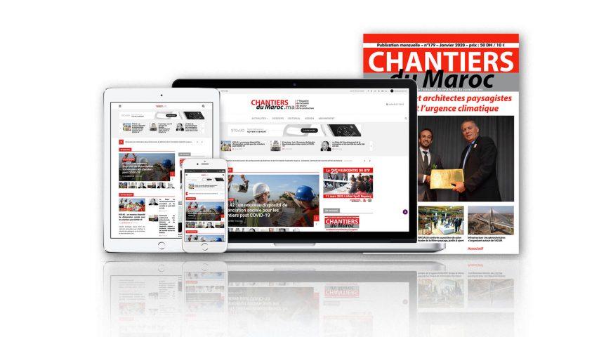 Site web : Chantiers du Maroc Magazine